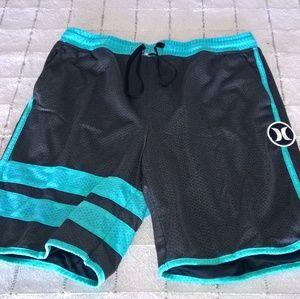 Hurley Nike Dri Fit Mesh Shorts L